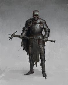 Armadura Medieval, Fantasy Monster, Monster Art, Fantasy Armor, Medieval Fantasy, High Fantasy, Dark Fantasy Art, Horror Artwork, Age Of Empires