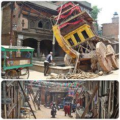 #memories of the #earthquake in  #Nepal a year ago #bhaktapur #traveling #backpacker #mochilero #vidamovida #viajar #viajes #viaggio #viagem #voyage  #rtw by vidamovida