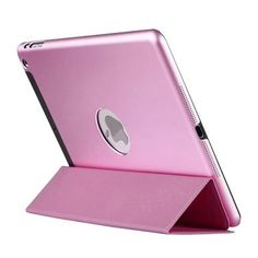 Stylish iPad Case iPad Mini 1/2/3 Protective Cases Metal Slim Cover Pink