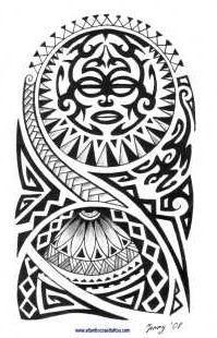 polynesian tattoo sketches - Google zoeken