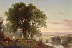 View near Dover Plains (New York)  Artist: Asher Brown Durand  Oil on canvas          c. 1850's