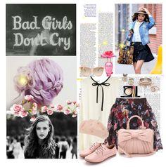 """Good Girls go pink!"" by magictrickinwonderland on Polyvore"