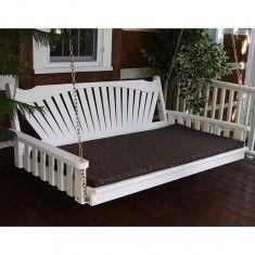A&L Furniture Co. Fanback Swing Bed