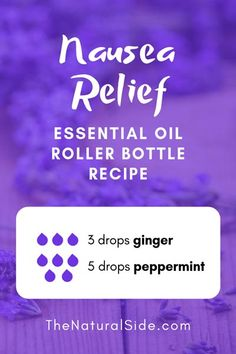 15 Best Essential Oil Roller Bottle Recipes for Beginners Searching for easy ways to use essential oils? In this post, you will find 15 beginners inspired essential oil roller bottle recipes which is one of the easiest ways to start using essential oils. Essential Oils For Nausea, Ginger Essential Oil, Essential Oil Uses, Doterra Essential Oils, Doterra Blends, Nausea Relief, Stress Relief, Roller Bottle Recipes, Cedarwood Oil