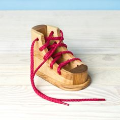 Hey, I found this really awesome Etsy listing at https://www.etsy.com/listing/105082595/lacing-shoe-montessori-toy