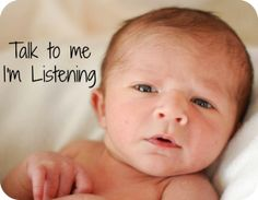 Your Child's Speech and Language at birth-6 months: their development and how to shape their skills.