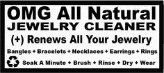 OMG Jewelry Cleaner