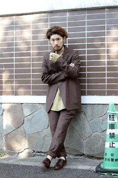 Area1:Shibuya,Tokyo(渋谷,東京)  Name:高橋 洋平  Occupation:Nid  Jacket:Edwina Hoerl  Tops:house of the very island's...  Trousers:Edwina Hoerl  Shoes:DIEPPA RESTREPO  Favorite shop:本屋
