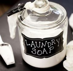 Homemade Laundry Soap - Dr. Axe