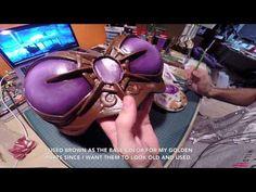 Cosplay Tutorial - Painting Breastplate - YouTube