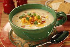 Potato Cheese Soup | MrFood.com