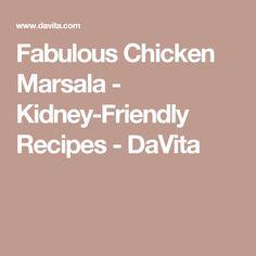Turkey and Beef Meatballs - Kidney-Friendly Recipes - DaVita Low Potassium Recipes, Kidney Friendly Foods, Renal Diet, Chicken Marsala, Diet Recipes, Turkey, Beef, Stuffed Peppers