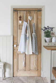 The back of doors makes brilliant extra storage space