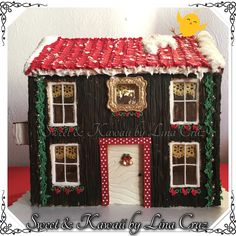 Gingerbread cookie house merry Christmas 2016