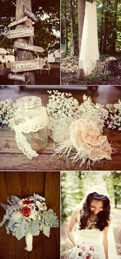 There are DIY inspired weddings and then there are weddings like this, completely hand-crafted affairs where family and friends come together with the bride and groom to build a truly memorable affair. Sent to us by Sloan Photographers, this Alabama couple left no crafting stone unturned and the result is pure heart-melting magic. See the…