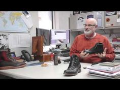 Roger Huard on basic boot care for Wolverine.