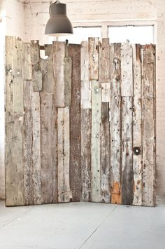 Our Barn Board Wall makes for a rad backdrop | Patina