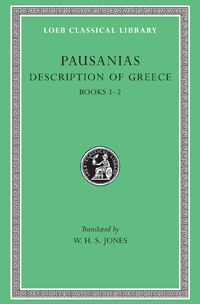 Pausanias, Description of Greece, Volume I: Books 1-2 (Attica and Corinth)  Pausanias, born probably in Lydia in Asia Minor, was a Greek of the 2nd century CE, about 120–180, who travelled widely not only in Asia Minor, Palestine, Egypt and North Africa, but also in Greece and in Italy, including Rome. He left a description of Greece in ten books, which is like a topographical guidebook or tour of Attica, the Peloponnese, and central Greece, filled out with historical accounts  LCL 93: