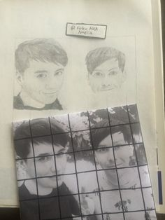 Currently a WIP of Dan and Phil... My family somehow convinced me to do a realistic drawing of them even though I hate drawing realistic and am not very good at it. This'll take me forever, but I'm making progress. Slowly but surely. Any thoughts? Is this decent? ((DO NOT REMOVE CREDIT)) By: Fuku AKA Amelia