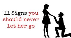 Here's why you should NEVER let her go!True love cannot be found easily, and especially not in today…