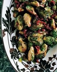 Roasted Brussels Sprouts with Cranberry Brown Butter (Food & Wine).