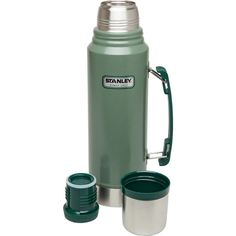 Buy Stanley Adventure Combo Stainless Steel Insulated Vacuum Bottle Food Jar at online store Great Coffee, Hot Coffee, Best Coffee Thermos, Stanley Vacuum, Stanley Thermos, Stanley Adventure, Stainless Steel Thermos, Vacuum Flask, Just In Case