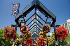 Summer at Calgary Olympic Plaza. Calgary, Olympics, Attraction, Bloom, Spaces, Summer, Travel, Summer Time, Viajes