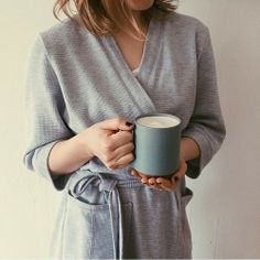 """""""The holy time is quiet as a nun""""--Wordsworth Ritual with coffee, late evening. Josephine, Getting Cozy, Fashion Moda, Girls Life, Waffle Knit, Dress Codes, Strong Women, Minimalist Fashion, Casual Chic"""