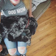 """Sure kids are cool, but I love being a dog mom.  Ships anywhere in USA and CA. 10% of each sale goes to benefit the """"Territorio de Zaguates"""" (Land of the Strays), a no-kill shelter home to hundreds of free roaming dogs in Costa Rica. 🐶 Runs small! Size up 1-2 sizes for a more slouchy fit.   Cotton 30-single 100% combed ring-spun cotton Super-soft baby jersey knit    Thanks for you order! Peace. Love. Dog. ✌️❤️🐶"""