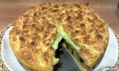 Budino Cream Apple Pie (Home Made)