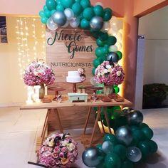 18th Birthday Party, Birthday Party Themes, Happy Birthday, Birthday Ideas, Bridal Shower, Baby Shower, Graduation Party Decor, Birthday Balloons, Craft Activities