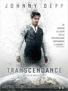 Transcendance affiche france avec Johnny Depp