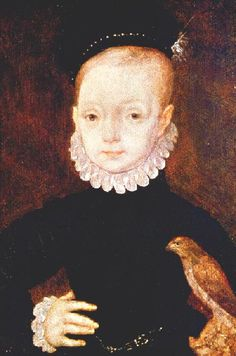 King James as a child,1571