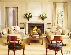 Living Room by Peter Marino Architect | AD DesignFile - Home Decorating Photos | Architectural Digest