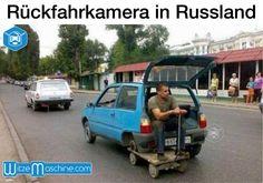 Rückfahrkamera in Russland - Russenwitze - Funny Russian Fail