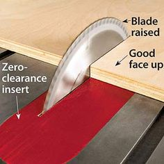 13 Tips for Perfect Plywood Cuts -You don't have to settle for rough, splintered edges when cutting plywood. Nor do you have to wrestle large, awkward pieces while placing your back at risk. Just use these simple tricks to get great results.