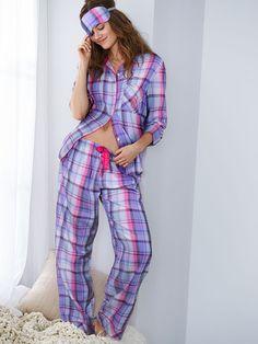 The Dreamer Flannel Pajama - Victoria's Secret