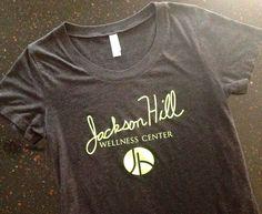 Jackson Hill Wellness Center tee Wellness Center, Jackson, Foundation, T Shirts For Women, Workout, Tees, T Shirts, Work Out, Foundation Series