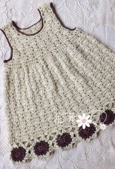 THAT'S CUTE. LINDO CROCHE DRESS CHILD - Crochet Designs Free