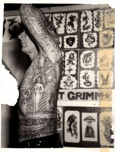 I'm a fucking Unicorn Bert Grimm American tattoo artist. Old Tattoos, Life Tattoos, Body Art Tattoos, Tattoo Blog, I Tattoo, Vintage Tattoo Design, Vintage Tattoos, Picture Tattoos, Tattoo Photos