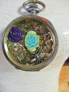 Pocket Watch Collage by Spiritracer on Etsy