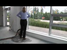 DIY How To Polish Concrete With A Concrete Floor Grinder - YouTube