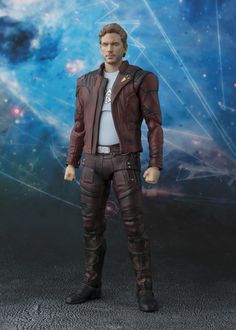 "Bandai Tamashii Nations S.H. Figuarts Star-Lord & Explosion Set Guardians of the Galaxy Vol. 2"" Action Figure. His head is digitally colored for incredible realism. It even includes explosion effects to let you replicate scenes from the film. Product is a special item set that will not be available in Japan and made for the U.S. Market. Product bears official Bluefin Distribution logo."