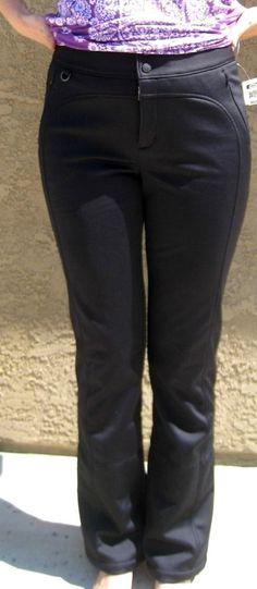 Athleta Ski-Daddle Ski Pant Snowboard Pants Black 8T 8 TALL NEW $198 #Athleta #PantsTightsLeggings