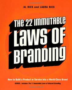 The 22 Immutable Laws of Branding by Al Ries http://www.amazon.com/dp/0060007737/ref=cm_sw_r_pi_dp_rFEgvb1PQR0FM