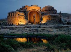 Palace of Ardashir, Firuzabad, Iran