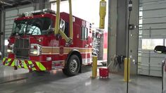 Montgomery County, Maryland Travilah Fire Station 32. Video by Dave Galt