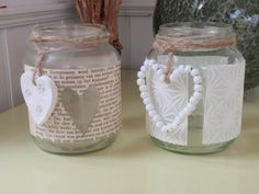 alles-vanellis: Low budget crea alles-vanellis: Low budget creaObviously a baby or bridal shower idea, but it could be cute for a bridal or baby registry area display, too! Cinema Party, Pots, Rainy Day Crafts, Valentine's Day Diy, Wedding Album, Valentines Diy, Diy Organization, Budgeting, Mason Jars