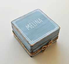 Damigella d'onore regalo scatola sarai la mia di VarmaLumo su Etsy