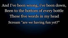 Nickelback - How you Remind me [Lyrics on Screen]